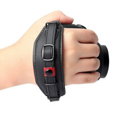 Stable Leather Wrist Strap Hand Belt Wristband for Canon Nikon Pentax SLR DSLR