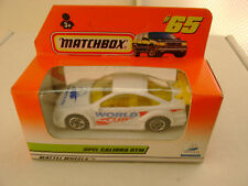 1997 MATCHBOX SUPERFAST #65 OPEL CALIBRA DTM WORLD CUP RALLY CAR NEW IN BOX