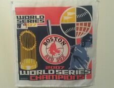 2007 Boston Red Sox World Series Champions Flag Banner New 16x16