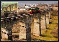 "2018, Ukraine Maxicard - EUROPA ""Bridges"" - ""Viaduct of Plebanivka village""."