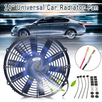 12V Universal 14'' Car Electric Radiator Cooling Cool Thermo Fan Mounting Kit