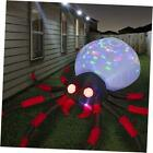 12 FT Halloween Inflatables Giant Red Spider Outdoor Halloween Decorations