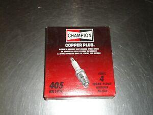 New Champion Copper Plus Spark Plug 405 Box of (4) Fits GM Mopar AMC Chevy