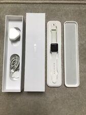 Apple Watch Series 1 38mm  Aluminium Case White Sport Band 7000