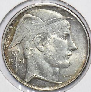 Belgium 1951 20 Francs Lion animal 294083 combine shipping