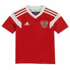 Camiseta de fútbol de selecciones nacionales rojos de rusia