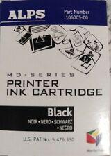 Alps MD-Series Printer Black Ink Cartridges 106005-00