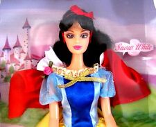Snow White Fairy Tale Princess Doll Collection Barbie Size 3+ NRFB