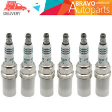 New Set of 6 Power Spark Plug DENSO IK20 5304 IRIDIUM For Toyota Honda