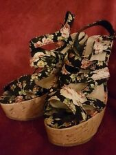 Party Standard Width (B) Unbranded Floral Heels for Women