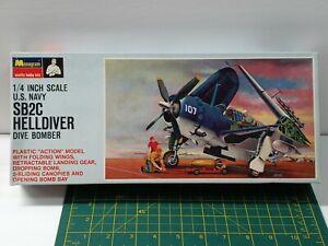 Vintage Monogram, Blue Box, 1/48 Curtis Sb2c Helldiver,Dive Bomber