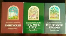 EUGENIA PRICE SIGNED ST. SIMONS TRIOLOGY Lighthouse, New Moon, Beloved Invader