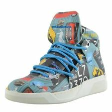Dolce & Gabbana Men's Leather Hi Top Sneakers Shoes US 6 IT 5 EU 39