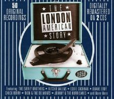 The London American Story 1959 2-CD NEW SEALED Bobby Darin/Fats Domino/Coasters+