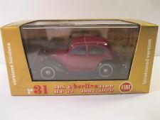 BRUMM FIAT BERLINA r31 1937-1939 DIECAST MODEL MINT IN BOX ITALY 1:43 SCALE
