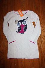 NWT Gymboree Charm Class Size 5 Tan Owl Sweater Dress