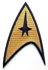 Iron on patch Original Gold Star Trek Command insignia Cosplay Hat