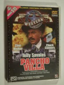 Pancho Villa DVD Western Feat Telly Savalas Clint Walker Chuck Connors BRAND NEW