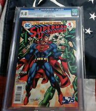 Superman Unchained (2013 DC) #1 Adams Bronze Age Variant CGC 9.8 1:50
