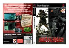 Jeux vidéo pour Sony PlayStation 1 metal gear solid