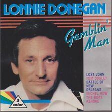 CD Album Lonnie Donegan Gamblin`Man (Tom Dooley, Lost John) 80`s