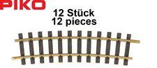Piko G 35215-S Rails CourbéS R5, r = 1243,08 mm / 15° (12 Unites)