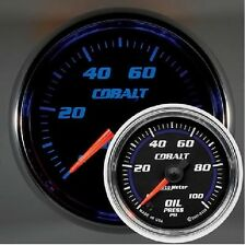 "* AU6153 AUTOMETER Cobalt Oil Pressure Gauge 2 1/16"" Electrical Ford Holden Chev"