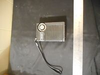 Vintage realistic aiwa solid state am portable radio
