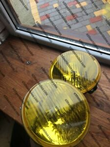 Converted Oem Hella Yellow High Beams For Bmw E30 Late Model