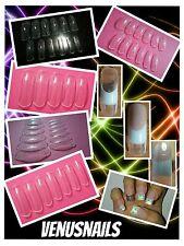 12 YsNails Uñas Acrílicas&Gel Nail Art Manicura Moldes Dual System Form x 3,60€