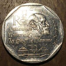 PIECE DE 2 FRANCS COMMÉMORATIVE DROITS DE L'HOMME 1998 (302)
