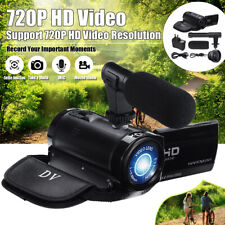 2.4''LCD Digital Camcorder Full 1080P 16MP HDMI USB Camera Mic for YouTube Video