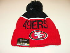 San Francisco 49ers Knit On Field New Era Toque Beanie Player Sideline Hat Cap