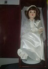 "Danbury Mint Bride Doll, ""Dorothy, A Bride of The 1940's, 12"" Tall"