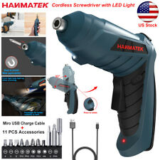 13in1 Power Tool Rechargeable Cordless Electric Screwdriver Drill Set LED Light