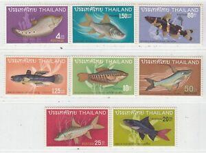 THAILAND  1968  ISSUE FULL SET UNUSED**  SCOTT 501/08