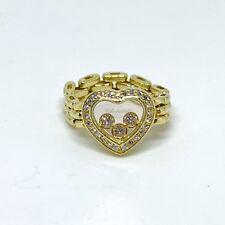 Chopard Happy Diamonds 18K Yellow Gold Flexible Ring
