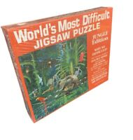 World's Most Difficult Jigsaw Puzzle - Jungle Edition - Brand New - 529 Pieces