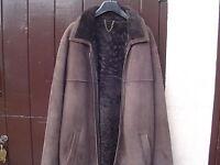 Antartex Genuine 100% Sheepskin Gents Modern Boxy Jacket Made in Scotland Size S