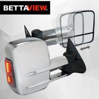 Bettaview Extendable Towing Mirrors Isuzu D-Max  Mu-x Colorado RG 2012 ON