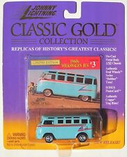JOHNNY LIGHTNING R3 CLASSIC GOLD COLLECTION 1960S VOLKSWAGEN BUS #3