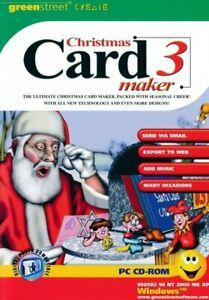Christmas Card Maker 3 - Greeting Creator Designer - PC CD-ROM (Disc in Sleeve)