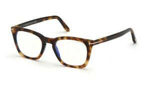 Tom Ford spectacle frame TF5736-B in col 053 blonde havana with case 48mm