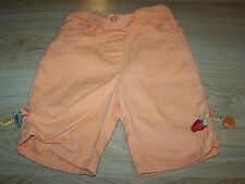 Size 2T Gymboree Tutti Fruity Orange Capris Summer Pants Watermelon Strawberry