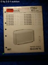 Sony Service Manual KV 32FX60D / A /B /E /K /R /U 28FX60D (#2746)