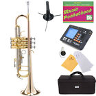 NEW ROSE BRASS PRO Bb Trumpet-Monel Piston~Great Sound