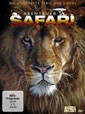 Abenteuer Safari - Die komplette Serie auf 3 DVD (2013) NEU