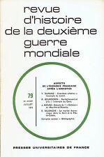 Revue d'histoire de la seconde guerre mondiale N° 79 LOIRET GARD PAS DE CALAIS