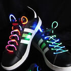 MultiColor Rainbow LED Lighted Shoe Laces + Extra Batteries-Ships FAST from USA!