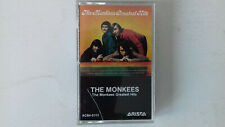 THE MONKEES  GREATEST HITS CASSETTE TAPE